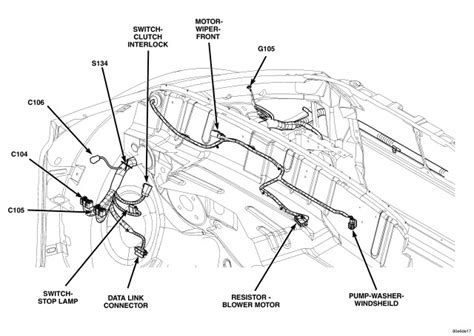 pt cruiser air bag location get free image about wiring