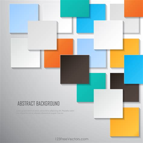 wallpaper garis kotak colorful square blank background vector image 123freevectors