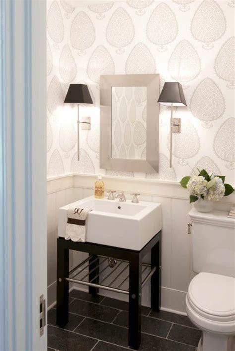 small bathroom wallpaper home design ideas pictures so k 246 nnen sie ein gem 252 tliches g 228 ste wc gestalten