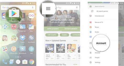 Play Store Sign Up How To Sign Up For Play Family Library Android