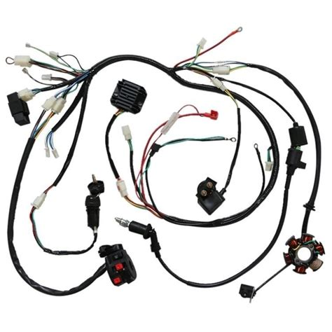 gy6 150cc electrics stator wire harness loom magneto coil