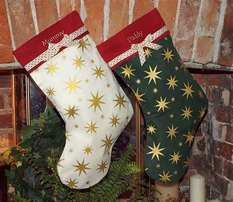 tuppenny house designs star stocking by tuppenny house designs notonthehighstreet com