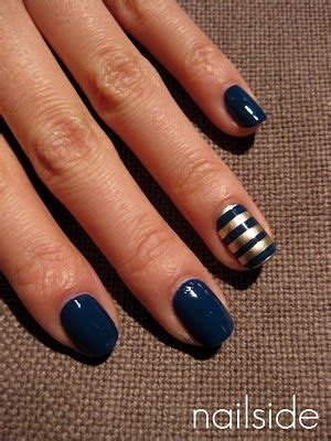 7 Most Fashionable Nail Polishes Of Today by 25 Best Ideas About Navy Blue Nail On