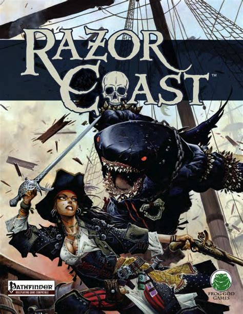 book of the righteous 5e books paizo razor coast caign book pfrpg