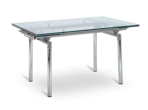 tavolo metallo tavolo allungabile in metallo e vetro matera2 scontato