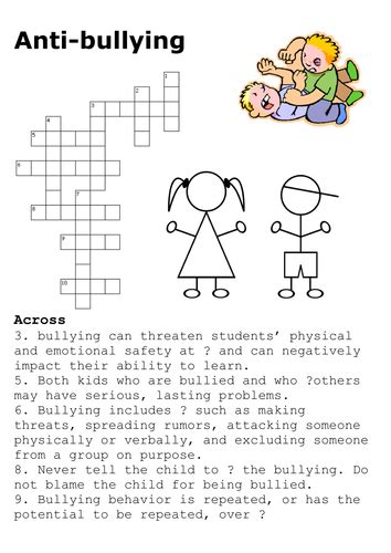 printable word search bullying social studies success teaching resources tes