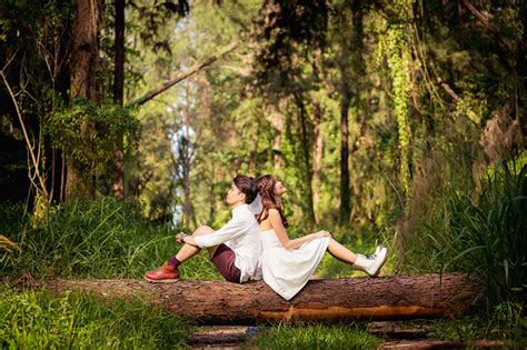 Casual Wedding Photoshoot by Poses Pre Wedding Photoshoot Forest Pre Wedding