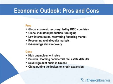 unemployment pros and cons icis chemical business joseph chang presentation to the