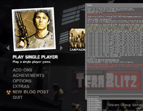 left 4 dead console left 4 dead 2 pc cheats codes and secrets