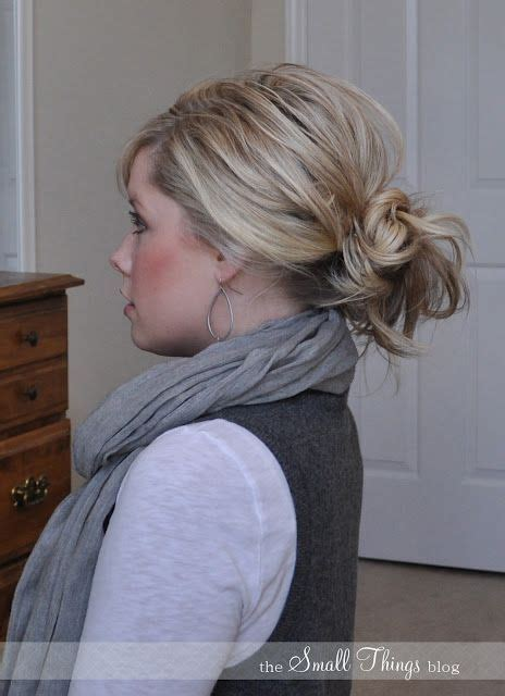 easy messy buns for shoulder length hair pin by jancie hughes on stylin and profilin quot pinterest
