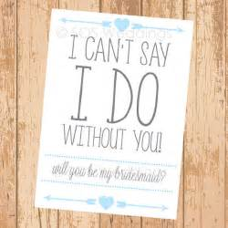 Will You Be My Bridesmaid Templates by Tribal Will You Be My Bridesmaid Card Printable By Sosweddings