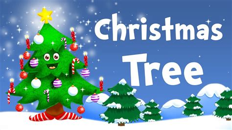 o christmas tree christmas song for kids with lyrics