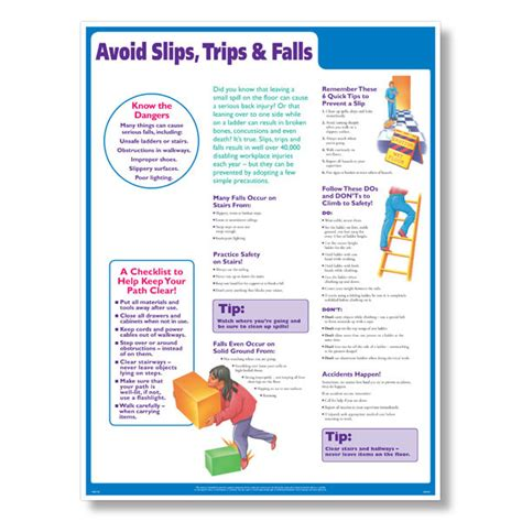fks medfit presents a solution to avoiding falls in adults aging has ups and downsã falls shouldnã t anything to do with them books slips trips falls safety poster how to avoid slips