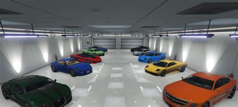 Garages In Gta 5 by Single Player Garage Spg Gta5 Mods