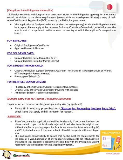 Employment Letter For Japan Visa Application employment certificate sle for japan visa application