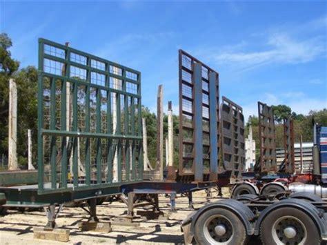 flatbed trailer headboard transport trailer headboards fechner engineering