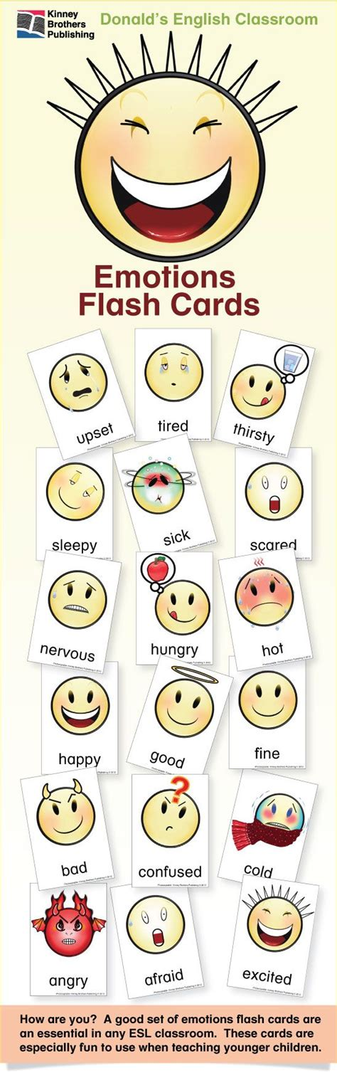 Ordinal Inside Out 14 esl flash cards emotions 2 classroom esl and stress free