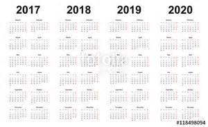 Kalender 2018 Und 2019 Quot Kalender 2017 2018 2019 2020 Vorlage Einfaches
