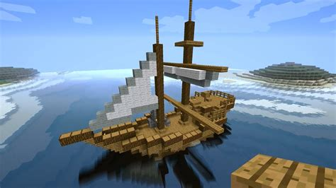 how to build a boat in minecraft pe minecraft tutorial how to build a medieval ship