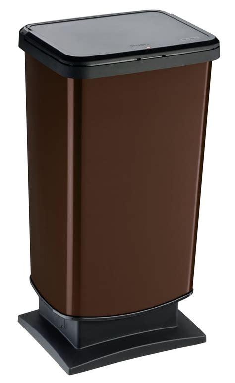 amazone bassura rotho 7542080470 paso cubo de basura 40 l color