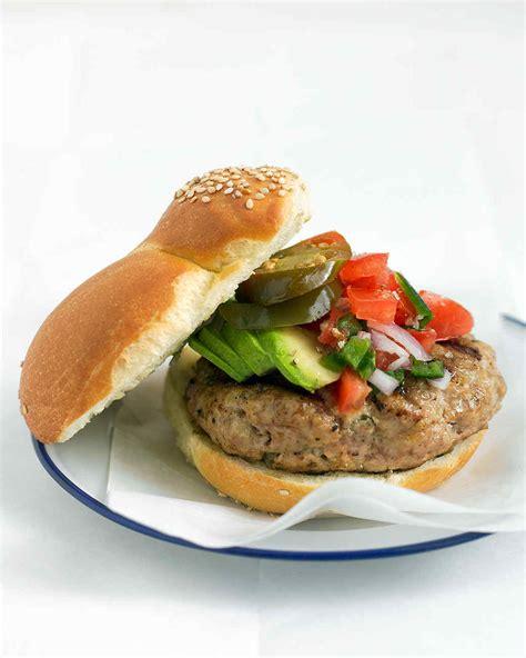 turkey burger recipe martha stewart burger and slider recipes martha stewart