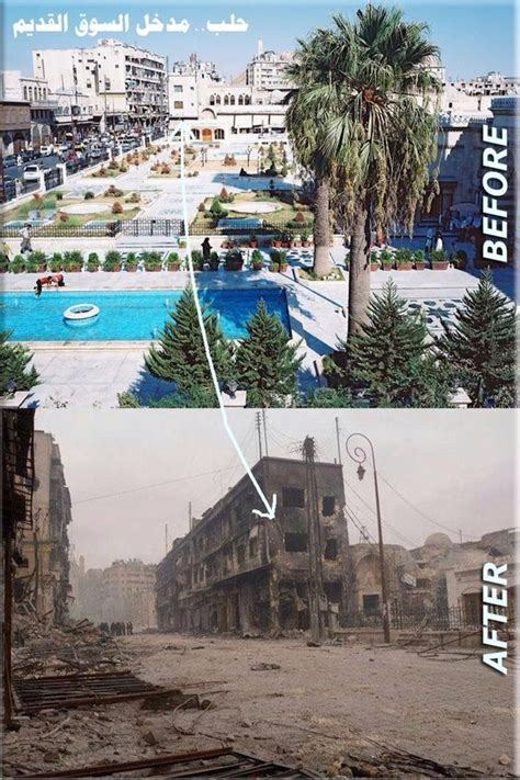 syria before and after aleppo before and after syria cas and the