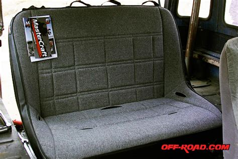 fj40 bench seat mastercraft rubicon bench seat review off road com