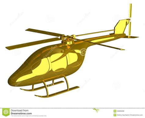 golden house miniature gold toy stock illustration golden helicopter isolated stock illustration