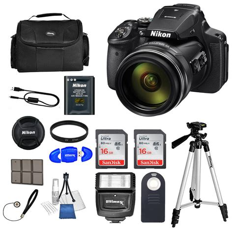Nikon P900 Ebay by Nikon Coolpix P900 Digital 83x Optical Zoom Wi Fi Black 32gb Bundle New 18208264995 Ebay