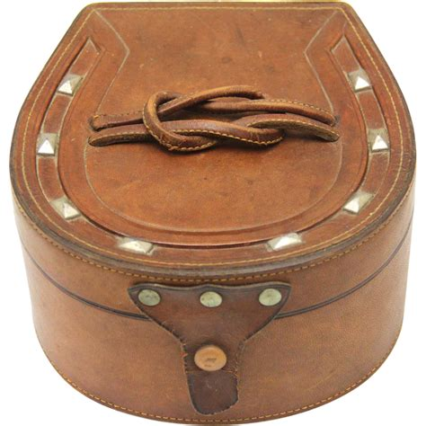Horseshoe Shaped by Horseshoe Shaped Leather Collar And Stud Box From Boxes On
