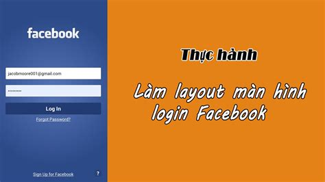 facebook login layout android l pimble tree