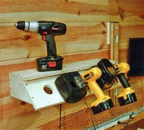 cordless drill charging station plans woodarchivist