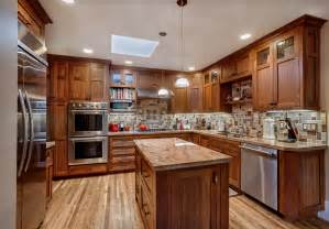 Custom Kitchen Ideas by Warm Cozy Custom Kitchen Griffin Custom Cabinets