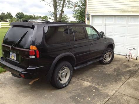 auto air conditioning repair 2002 mitsubishi montero sport on board diagnostic system sell used 2002 mitsubishi montero sport ls sport utility 4 door 3 0l in carriere mississippi