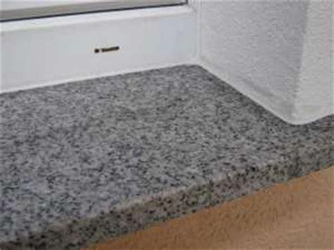 fensterbank granit kosten 187 granit fensterb 228 nke mit natursteinsilikon abdichten