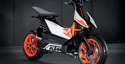 Ktm Company Ktm Shows Electric Scooter Concept In Japan