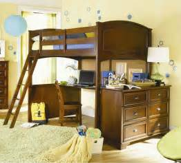 Full Size Loft Bed With Desk For Adults Wood Full Size Loft Bed With Desk Underneath And Chest Of