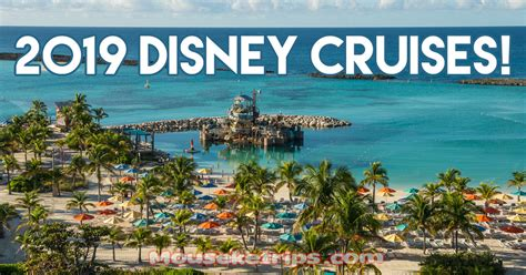 disney news from 2019 cruises early 2019 disney cruises announced mouseketrips