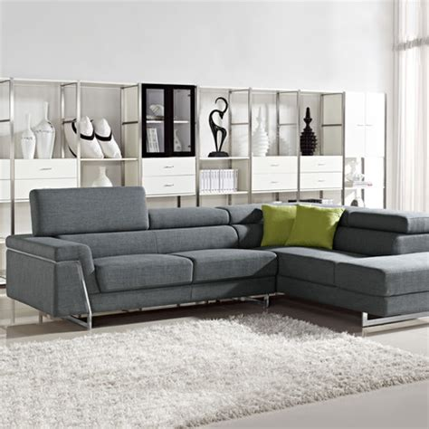 divani casa arden modern black fabric sectional sofa vig furniture for the ultra modern lifestyle touch of