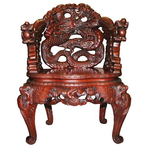 Antique Chair With Carved by Antique Signed Japanese Carved Katsura Chair Scranton