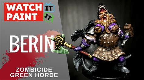 Painting Zombicide Green Horde by Zombicide Green Horde Painting Berin