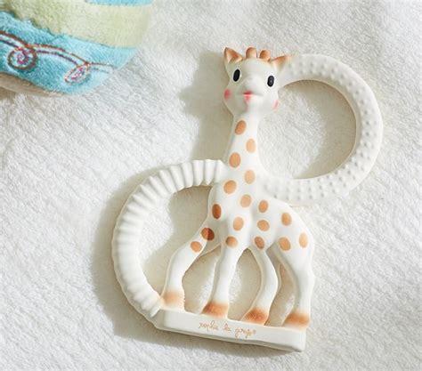 Baby Giraffe Teether the giraffe teether pottery barn
