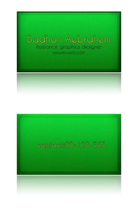 do you need a green card to buy a house green businesscard psd by dvanartist on deviantart