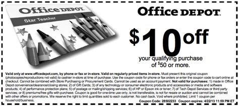 office depot coupons november office depot coupons office max coupon code instore money