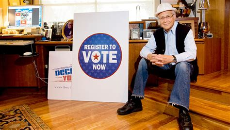 norman lear office while declare yourself gets out the vote norman lear