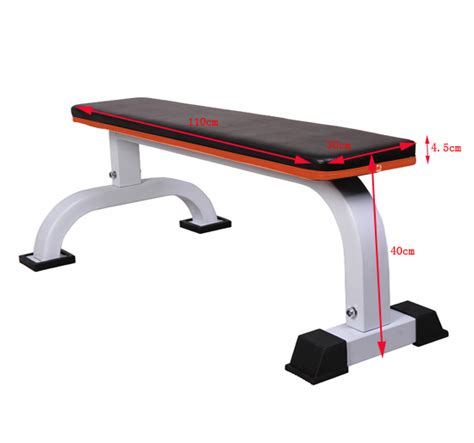 HOMCOM Barbell Flat Fitness Bench Press Dumbbell Weight