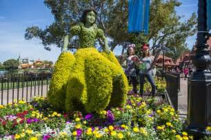 Epcot Flower And Garden Festival Epcot International Flower Garden Festival Walt Disney World News