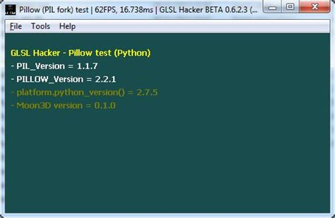 beginning with pillow the pil fork python imaging