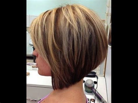 bob haircuts on youtube how to cut a layered bob haircut tutorial step by step