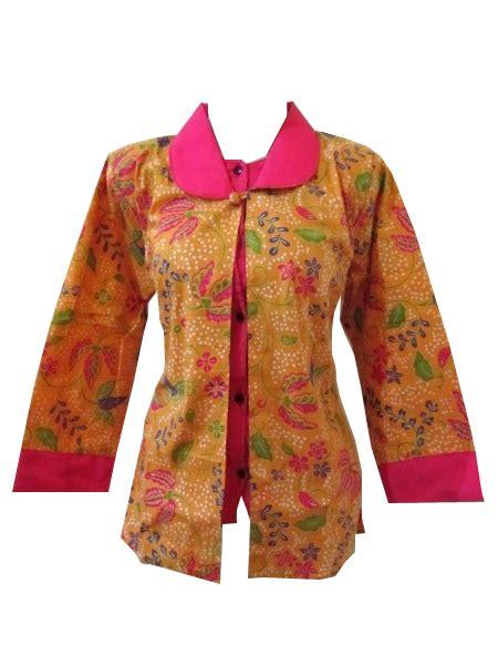 Blouse Grosir Baju Murah Berkualitas Agen Baju Diskon blouse batik pekalongan murah collar blouses